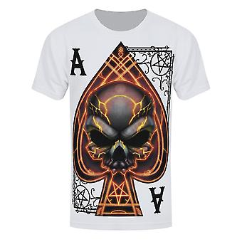 Grindstore Herren Ace Pik T-Shirt