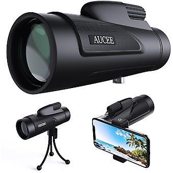 12x50 Monocular Telescope for Adults, HD High Power Bak4 Prism Monocular