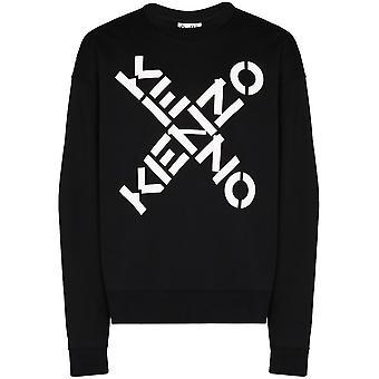 Kenzo Big X Oversized Logo Sweatshirt