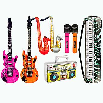 Inflatables Guitar Musical Instruments Toy