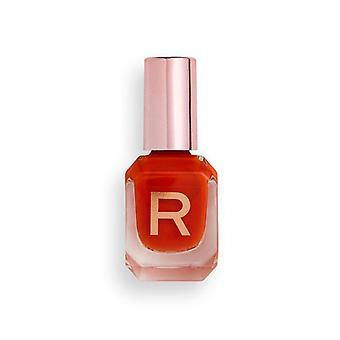 Makeup Revolution High Gloss Nail Polish 10ml - Mango