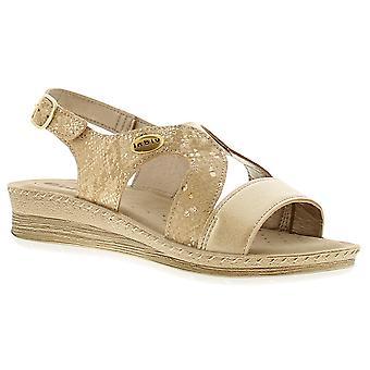 Inblu ingot womens ladies wedge sandals  UK Size