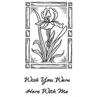 Luovat ilmaisut Regal Iris 2 Pre Cut -postimerkit