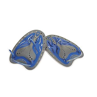 Zoggs Matrix Swim Hand Paddles Large - Blue
