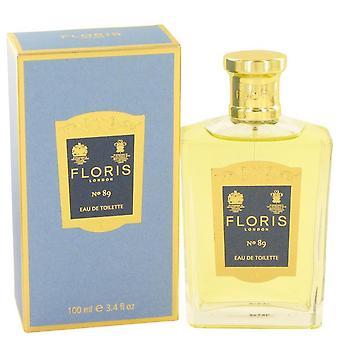 Floris No 89 Eau De Toilette Spray By Floris 3.4 oz Eau De Toilette Spray