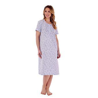 Slenderella ND77112 Women's Paisley Nightdress