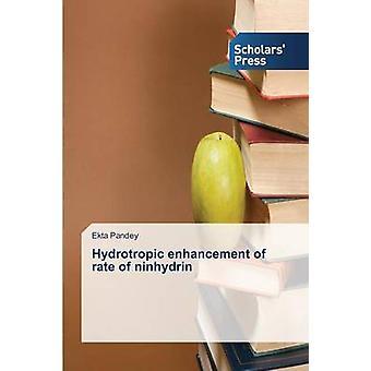 Hydrotropic Enhancement of Rate of Ninhydrin by Pandey Ekta - 9783639