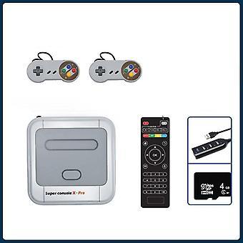 Super Console X Pro S905x Hd Wifi Ausgang Mini TV Videospiel-Player