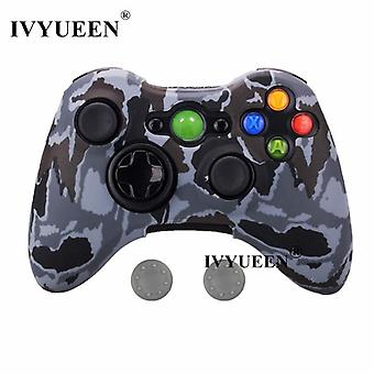 Water Transfer Printing Protective Skin For Microsoft Xbox 360 Wired / Wireless
