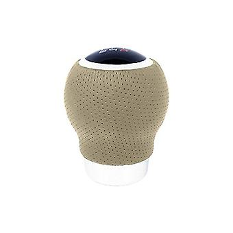 Shift Lever Knob BC Corona POM30167 Leather With Trigger Beige (27 mm)