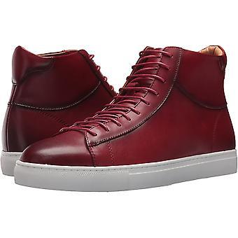 Zanzara Mens Zaugg Leather Hight Top Lace Up Fashion Sneakers