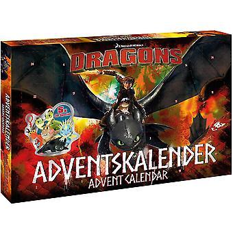 Wokex 57323 - Adventskalender Dreamworks Dragons