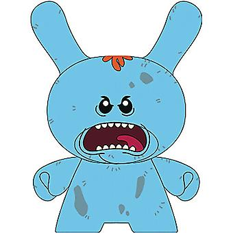 Dunny Rick And Morty Mr Meeseeks 6in Vinyl Fig USA import