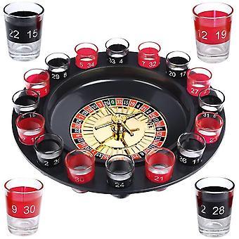 FengChun Trinkspiel Roulette inkl. Geschenkverpackung Party Spiel Saufspiel fr Erwachsene