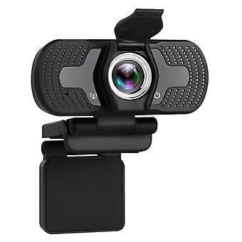 Webcam 1080P Full HD Web Kamera med mikrofon Web Cam 1080p til PC Computer Desktop Webcams