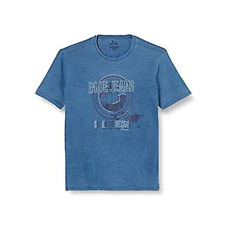 Pioneer T-Shirt Crew Neck, Blue (Indigoblue 578), XL Men's