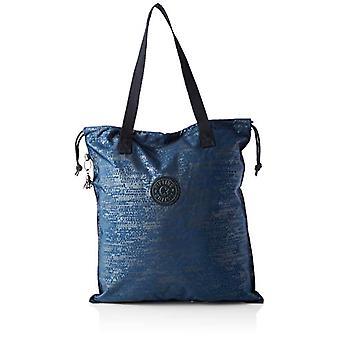 Kipling NEW HIPHURRAY, Kvinders Tote Bag, Blue Eclipse Pr, 1x4x44,5 cm