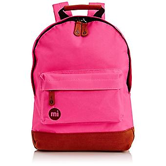 Mi-Pac Mini, Unisex Pink Pink Casual Backpack Hot Pink
