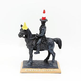 Lang Syne Publishers Ltd Glasgow Duke Of Wellington Statue Coneheid Resin Large Ornament