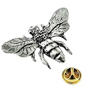Ties Planet Honey Bee English Pewter Lapel Pin Badge