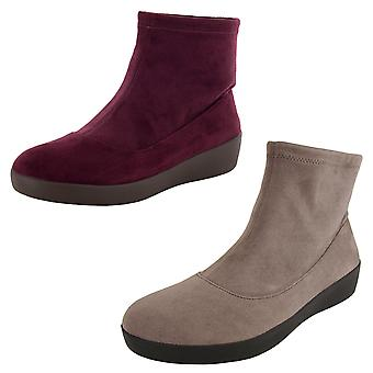 Fitflop Mujer Ottie Calce Faux Suede Bootie Zapatos