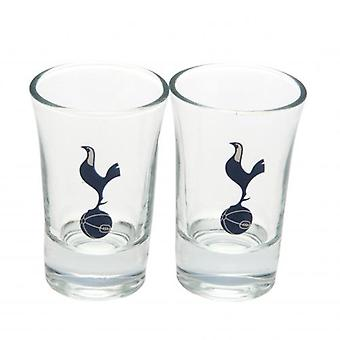 Tottenham Hotspur FC 2 Pack Shot Glass Set
