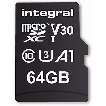 Zintegrowana pamięć 64 GB karty pamięci MicroSDxC Premium Premium