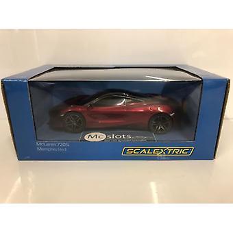 Scalextric C3911 McLaren 720S Memphis Red Super Resistant