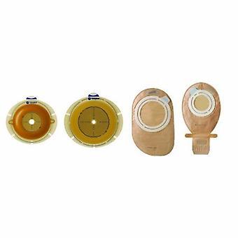 Coloplast Ostomy Bariera Sensura Flex Trim pentru a se potrivi, flexibil dublu strat adeziv 2 inch flanșă roșu Cod Cut-, 10 Count