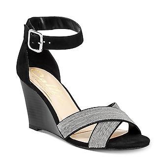 Callisto Womens Montana Crisscross Wedge Sandals