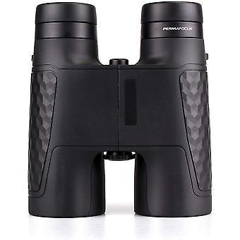 Binoculars,10x42 Fixed Focus Binoculars, FMC Optical Spectator Sportift Adult Binoculars with Soft Neck Strap for Premier League UEFA Champions League Golf,(black)