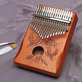 17 Keys kalimba thumb piano portable finger flexible piano