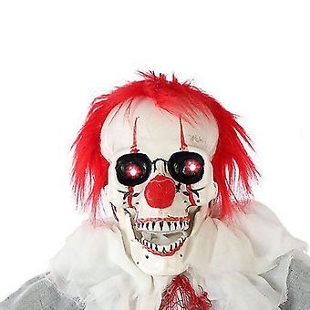 Squelette de clown suspendu (153 cm)