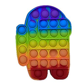 Fitget Leksaker Push It Game Adult Kid Push Bubble Fidget Sensory Toy Autism Special Needs Stress Reliever Popo Figet Speelgoed