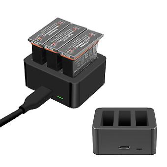 Convient pour Dji Osmo Action Sports Camera Charger Usb Battery Charging Case