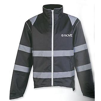 Proviz Nightrider Waterproof Jacket Black CE