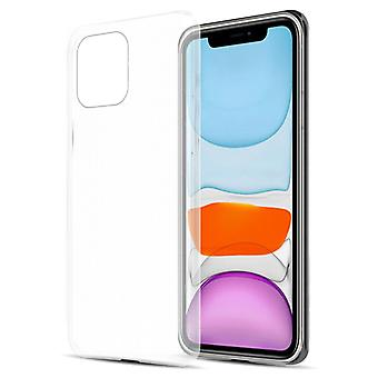 Caso para iPhone 12 Mini TPU Silicone Estojo flexível de silicone - Capa - ultra fino