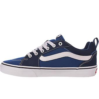 Vans Herre Filmore Off The Wall Sidewall Lærred Undervisere Sneakers - True Blue