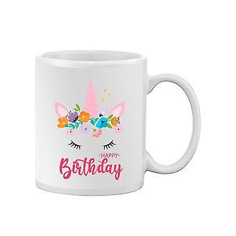 Hyvää syntymäpäivää Yksisarvinen Muki -SPIdeals Mallit