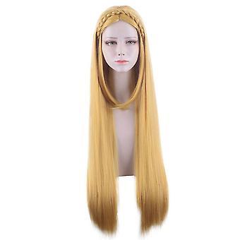 Legend of Zelda Anime Wigs Princess Zelda Braided Cosplay Wigs
