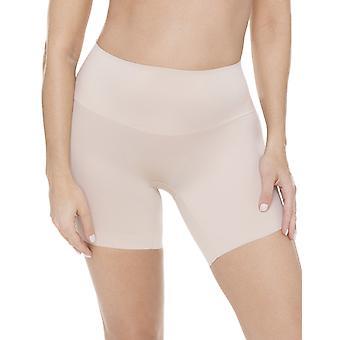 Miraclesuit Shapewear Comfy Curves 2518 Women's Warm Beige High Waist Long Leg Brief