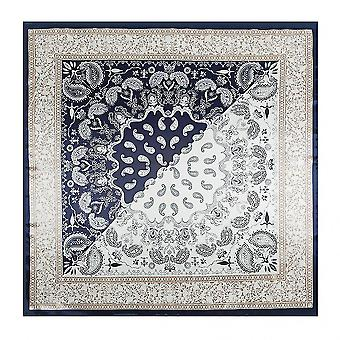 Square Silk Scarf Women Print Small Neck Scarfs Hair Band(COLOR1)