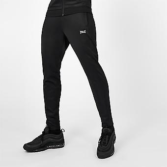 Everlast Mens Essential Track Joggers Sweatpants Jogging Bottoms Closed Hem Poly