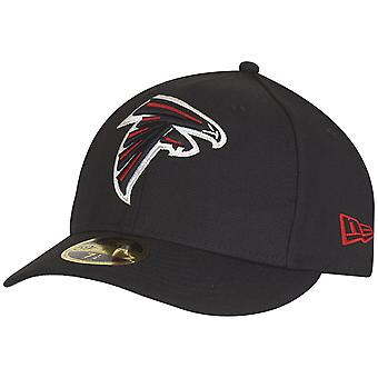 New Era 59Fifty LOW PROFILE Cap - Atlanta Falcons schwarz