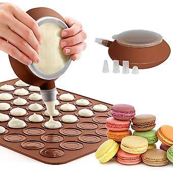 Tappetino da forno in silicone con penna decorativa e ugelli