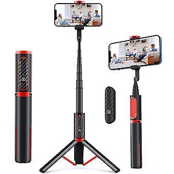Selfie Stick -kolmijalka, irrotettava langaton kaukosäädin