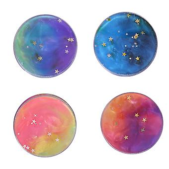 Crystal Fluffy Slimes Stress Ball 4pcs