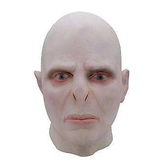 ハリーポッタービッグボスヴォルデモートマスクヘッドギアハロウィーンラテックスホラーヘッドギア