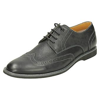 Mens Thomas Blunt Lace Up Brogue Shoes A2141