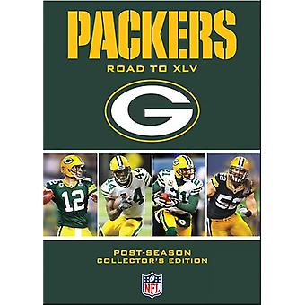 NFL Green Bay Packers: Road to 45 [DVD] USA import